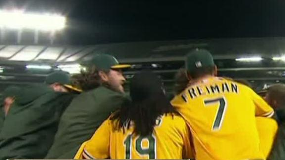 Video - A's Walk Off Against Angels