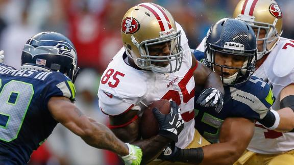 Niners TE Davis (hamstring) day to day