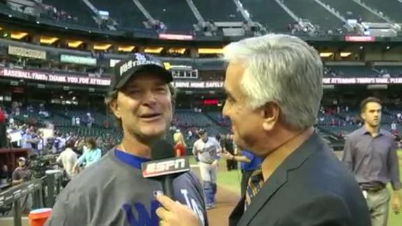 Video - Mattingly After Dodgers Clinch West