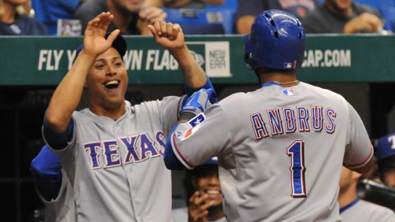 Video - Rangers Storm Past Rays