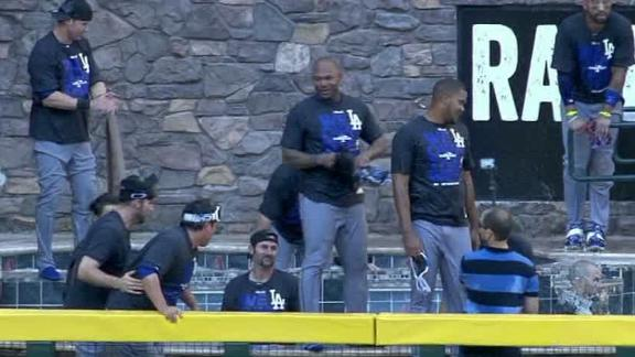 Video - Diamondbacks Take Exception To Dodgers' Celebration