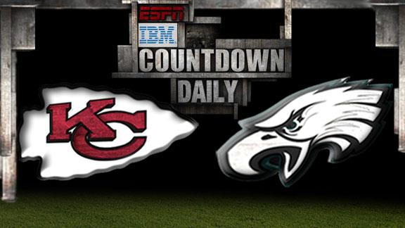 Video - Countdown Daily Prediction: KC-PHI