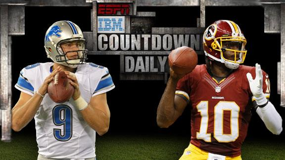 Lions rally to drop RG III, Redskins to 0-3