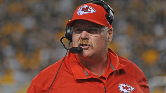Video - Andy Reid Returns To Philly