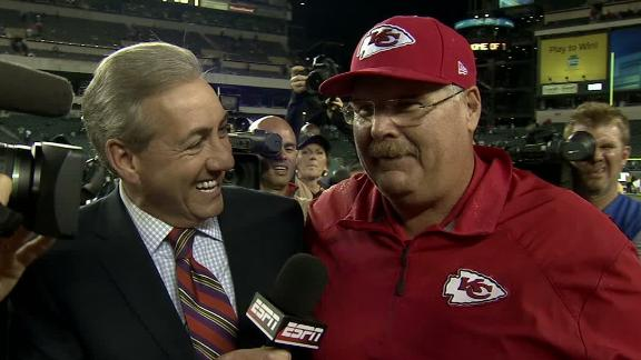 Video - Andy Reid After Chiefs' Win