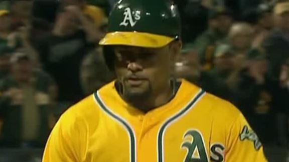 Video - Crisp Lifts A's Past Twins