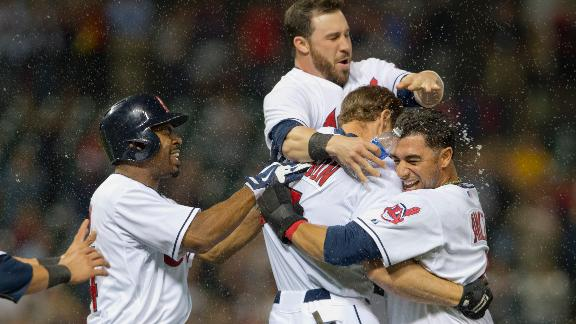 Video - Indians Walk Off In The 11th
