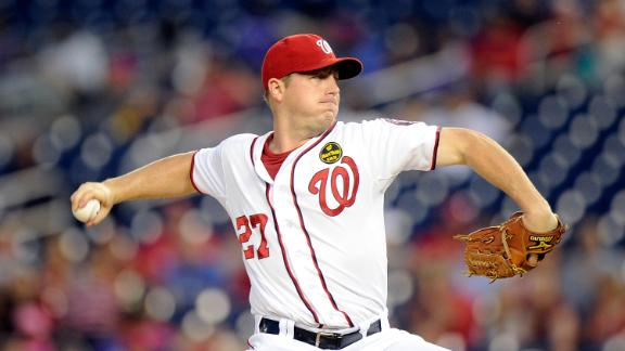 Zimmermann shines as Nationals stay alive