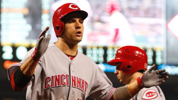 Votto's homer lifts Reds to win over Pirates