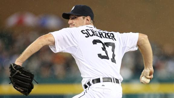 Scherzer wins 20th as Tigers rout White Sox