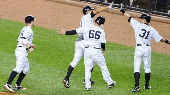 Video - A-Rod's Grand Slam Lifts Yankees