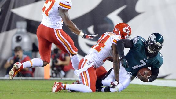 Video - Eagles Reeling, Chiefs Feeling Good