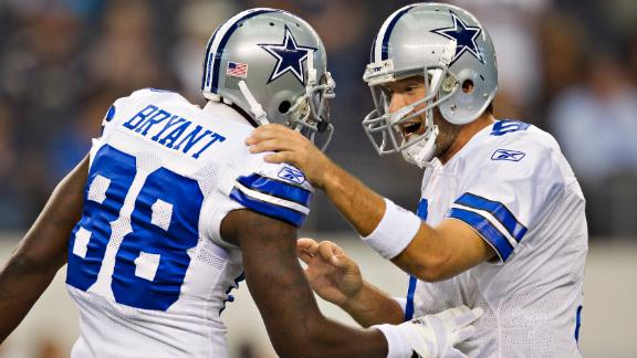 Video - Jones Not Worried About Romo, Bryant