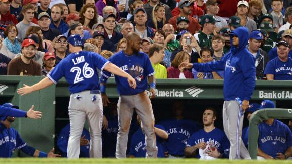 Buchholz handed first loss as Jays prevail