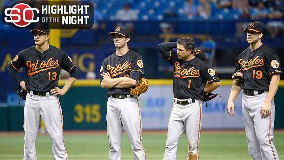 Rays edge O's in 18, keep AL wild-card lead