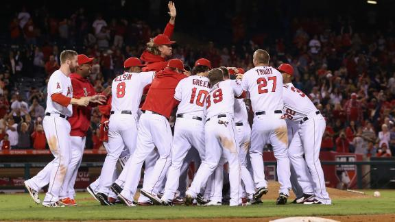 Video - Angels Rally For Walk-Off Win