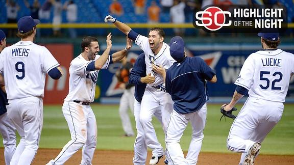 Video - Rays Win 18-Inning Marathon