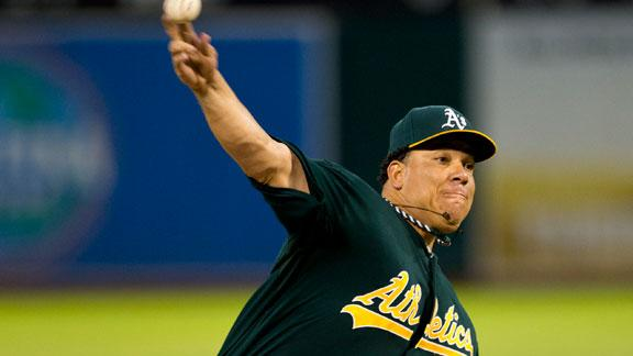 A's roll, reduce AL West magic number to 2