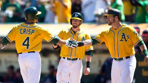 Video - A's Clinch AL West