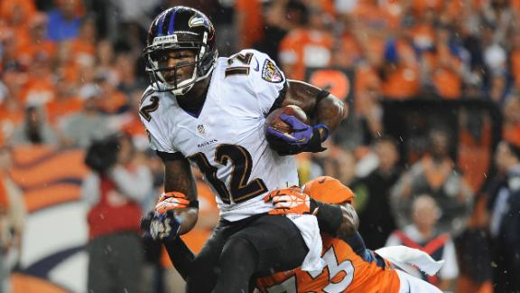 Stripper hits Ravens' Jones with champagne