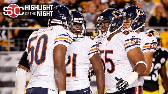 Video - Defense Carries Bears Past Steelers