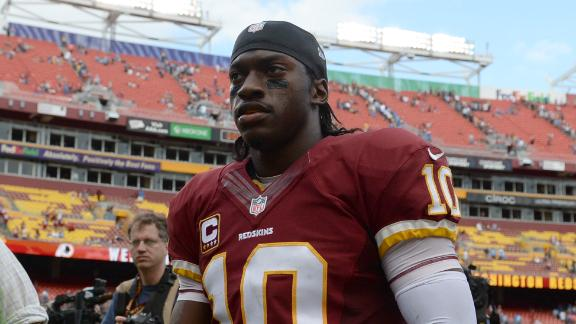 Garcon: RG III 'a lot different' due to knee