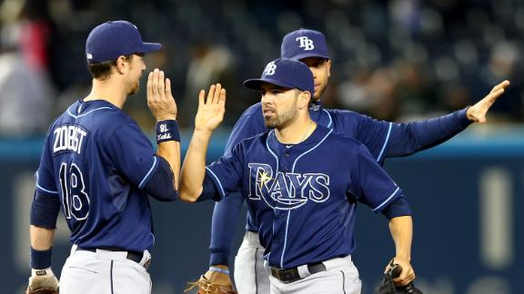 Moore, Rays dim Yankees' playoff hopes