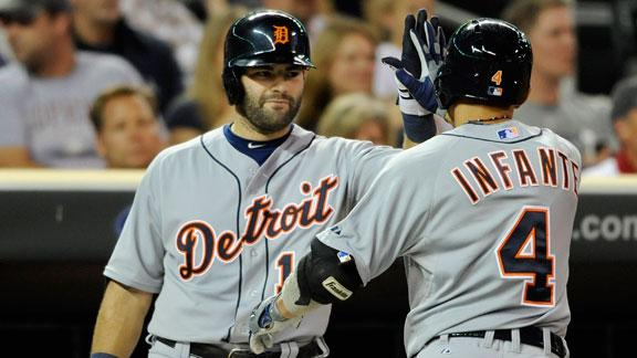 Video - Tigers Double Up Twins