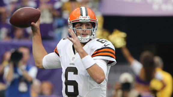 Browns QB Hoyer to get 2nd straight start
