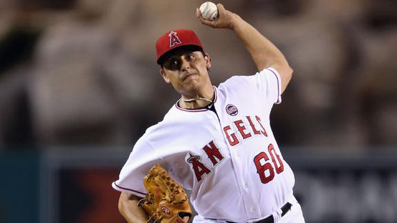 Angels' Vargas shuts out playoff-bound A's