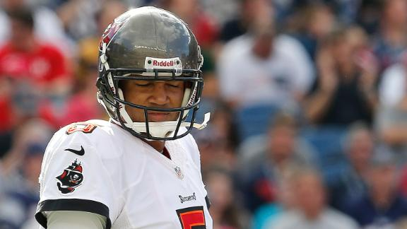 Bucs bench QB Freeman for Glennon