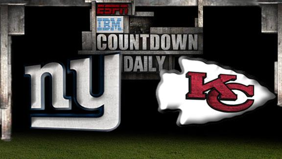 Video - Countdown Daily Prediction: NYG-KC