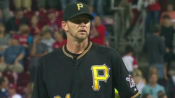 Video - Burnett Powers Pirates Past Reds