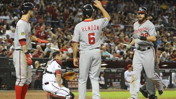 Video - Nationals Power Past Diamondbacks