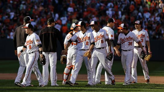 Video - Orioles Use Five-Run Fifth To Best Red Sox