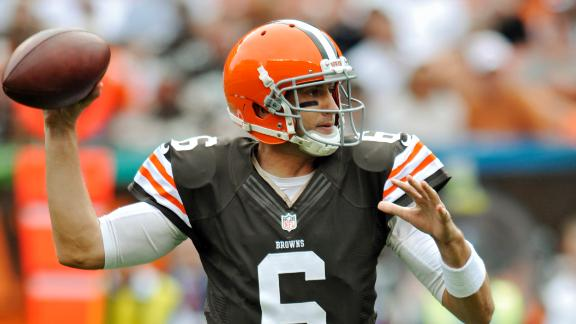 Browns QB Hoyer to get third start in row