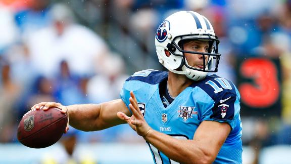 Video - QBs Determine Jets-Titans Outcome