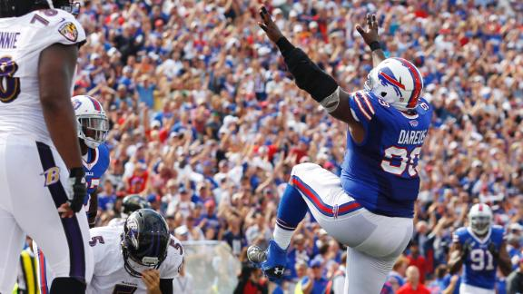 Bills RB Spiller, Jackson both injured vs. Ravens