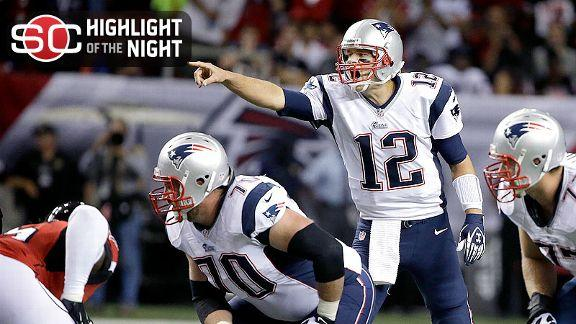 Video - Patriots Hold Off Falcons