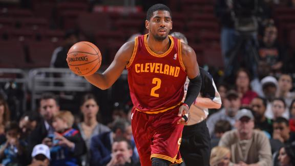 Cavs' Irving wants to be league's best player