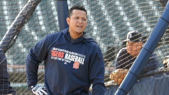 Video - Miguel Cabrera Playing Through Injury