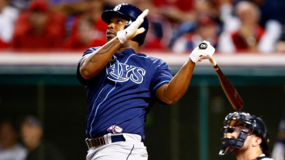 Cobb, Rays quiet Indians, move into ALDS