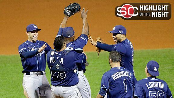 Video - Rays Advance To Face Red Sox