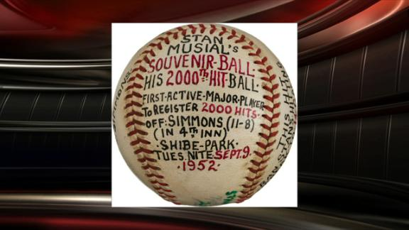 Musial memorabilia auction nets $1.2 million