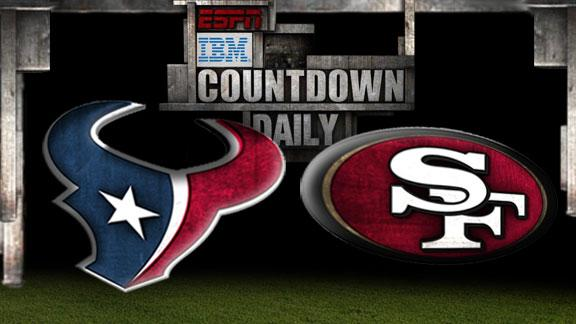 Video - Countdown Daily Prediction: HOU-SF
