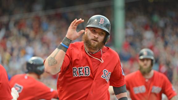Video - Red Sox Rout Rays To Take Game 1