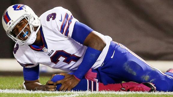 Bills lose injured quarterback EJ Manuel for a few weeks, team …