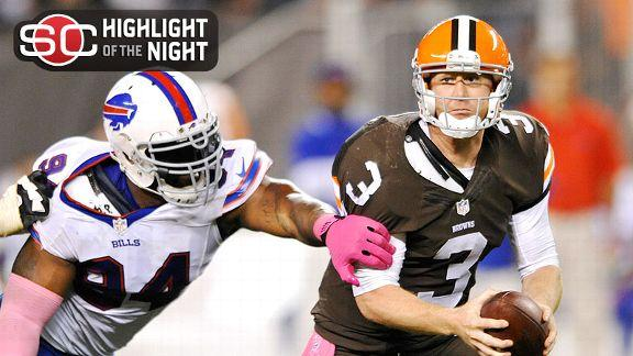 Video - Browns Win Third Straight