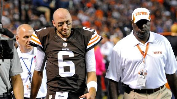 Video - Brian Hoyer Out For Season