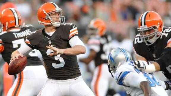 Video - Browns Need To Step Up Without Hoyer